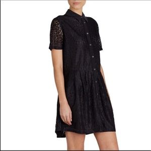 Equipment Femme Naomi Short Sleeve Lace Dress